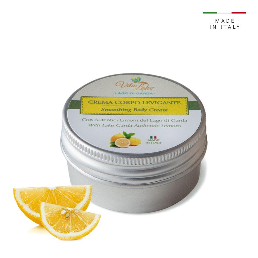 vitalake - cosmetica naturale - linea limone della riviera: crema corpo levigante 50 ml