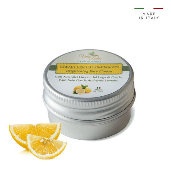 vitalake - cosmetica naturale - linea limone della riviera: crema viso illuminante