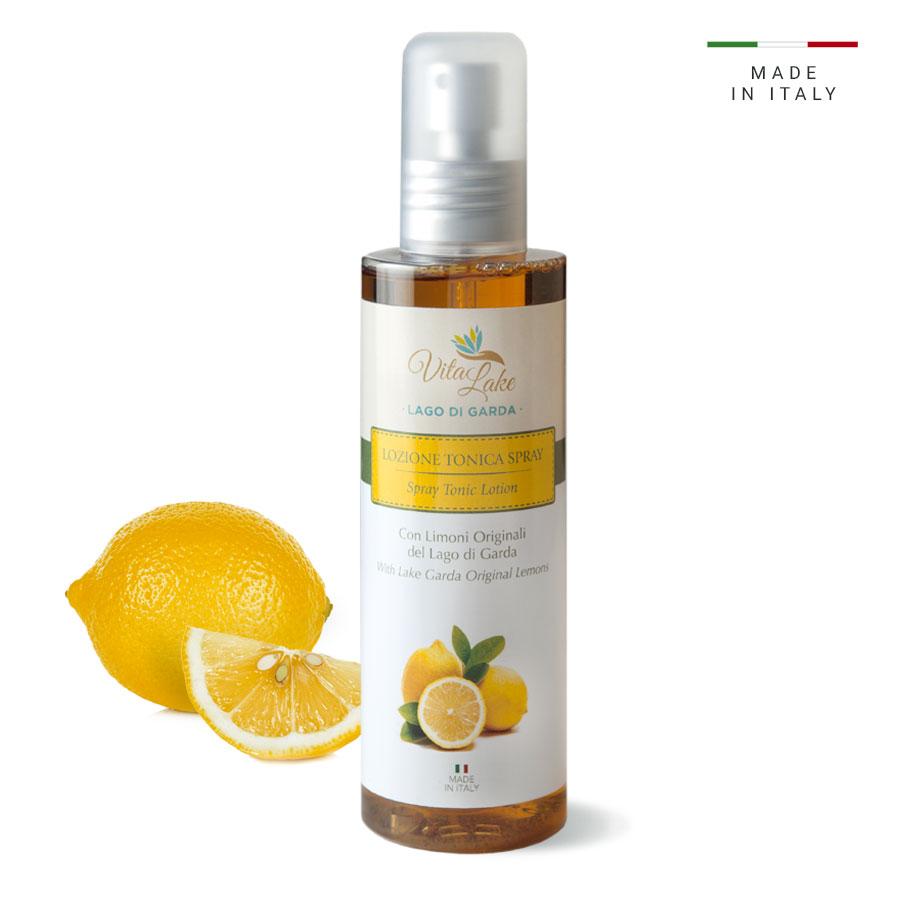 vitalake - cosmetica naturale - linea limone della riviera: lozione tonica