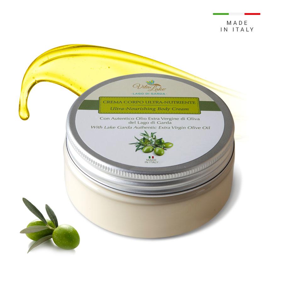 vitalake - cosmetica naturale - lineaolio d'oliva evo:crema corpo