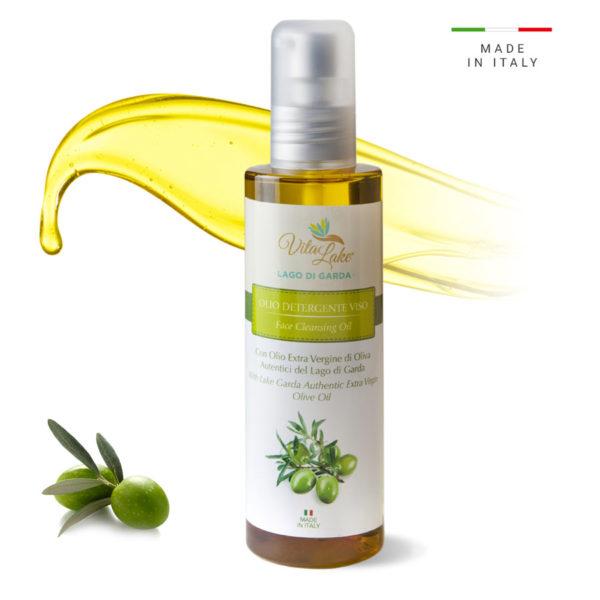 vitalake - cosmetica naturale - lineaolio d'oliva evo: olio detergente