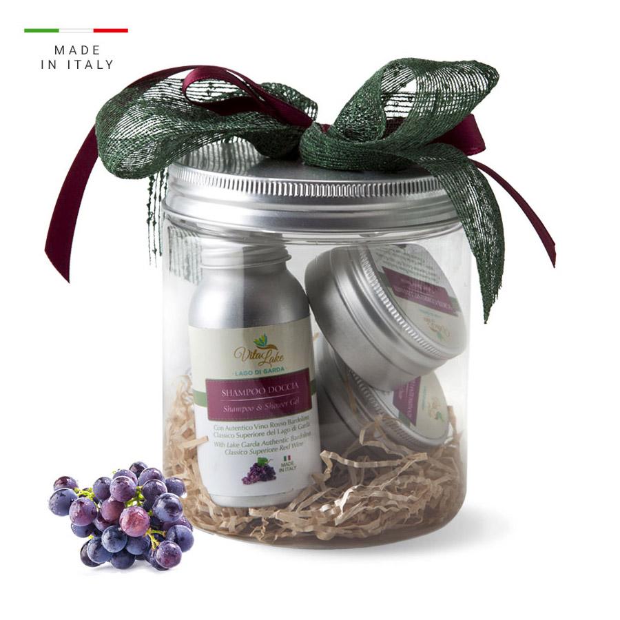 vitalake - cosmetica naturale - linea vino Bardolino: idea regalo