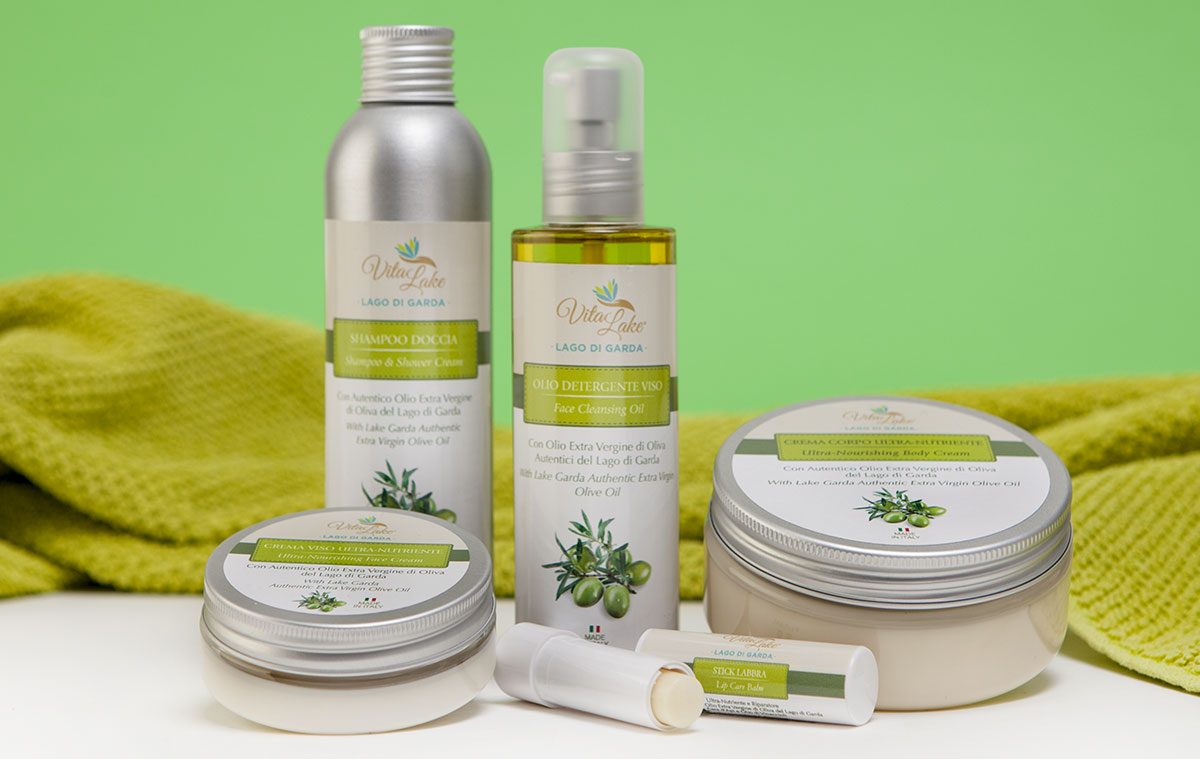 Vitalake-linea- evo olive oil -NATURAL COSMETIC from Lake Garda