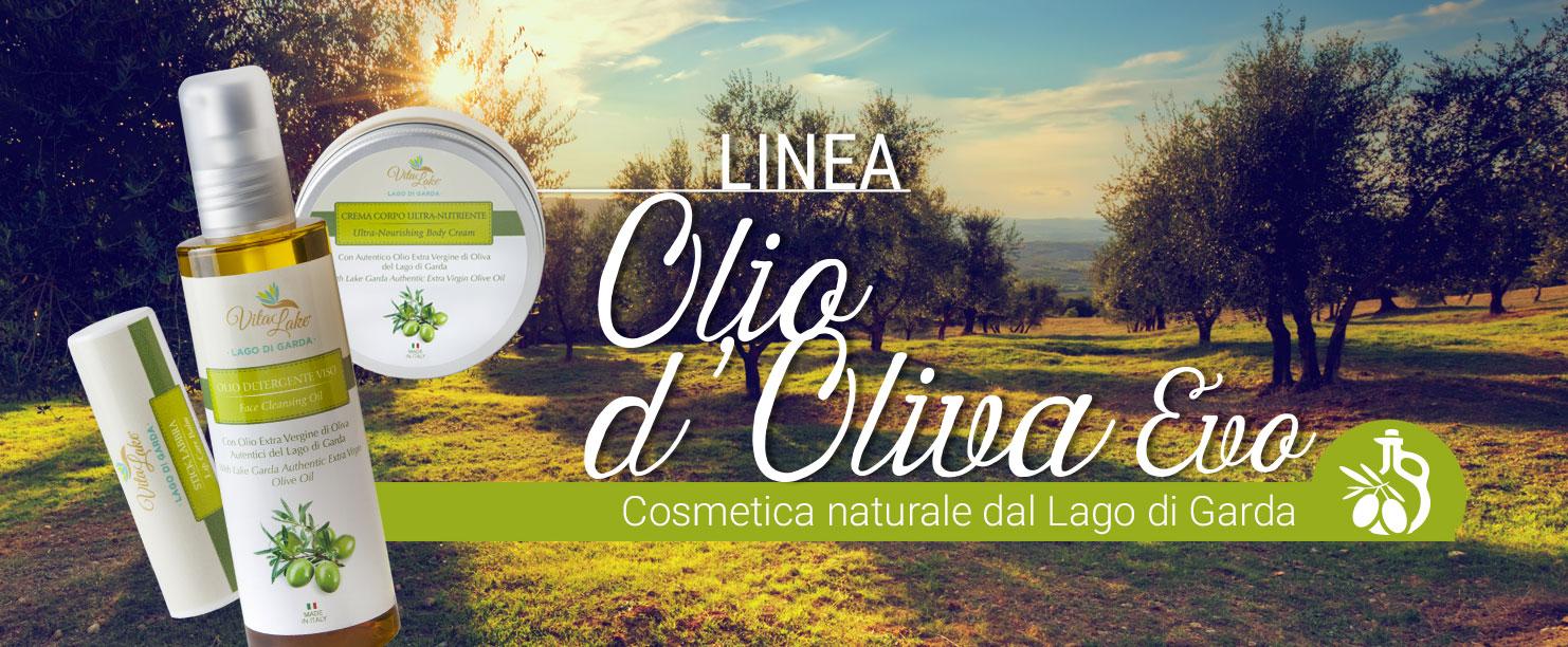 Vitalake-cosmesi naturale line Olio d'oliva del lago di Garda