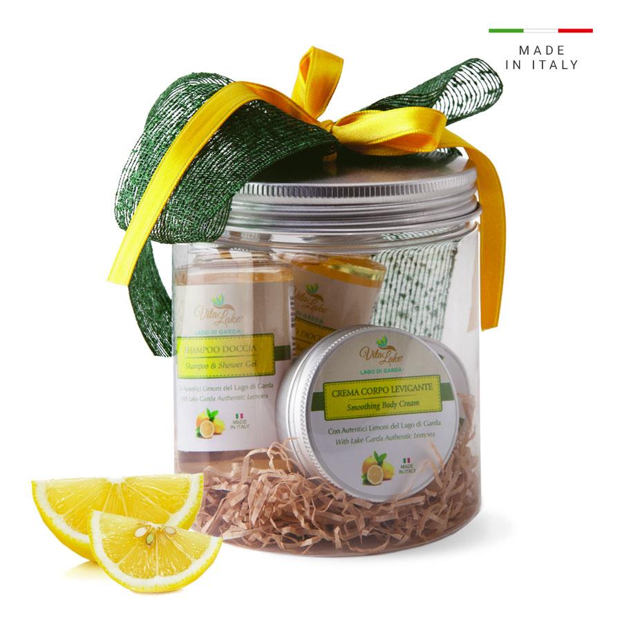 vitalake - cosmetica naturale - lineao limone riviera: idea regalo
