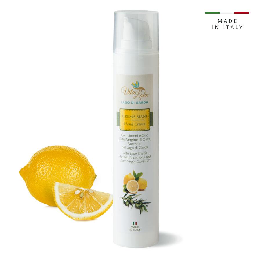 vitalake - cosmetica naturale - linea limone della riviera: crema mani